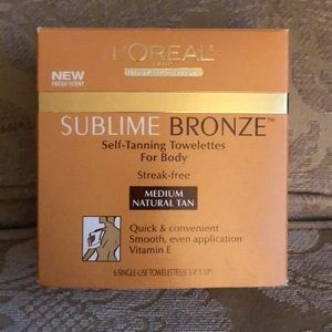 L'Oréal sublime bronze towelettes